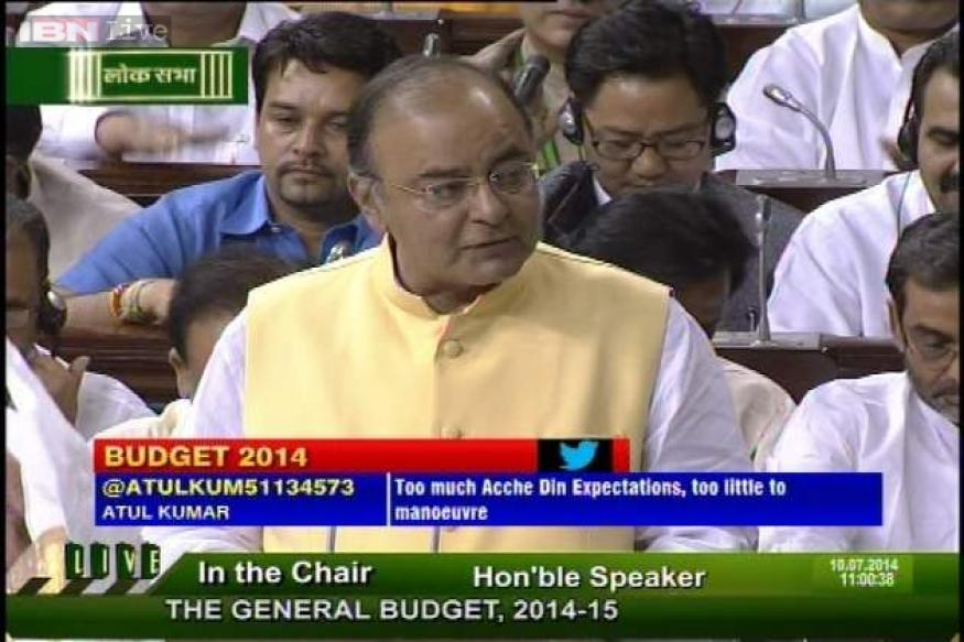 Full text: Finance Minister Arun Jaitley's maiden Budget speech