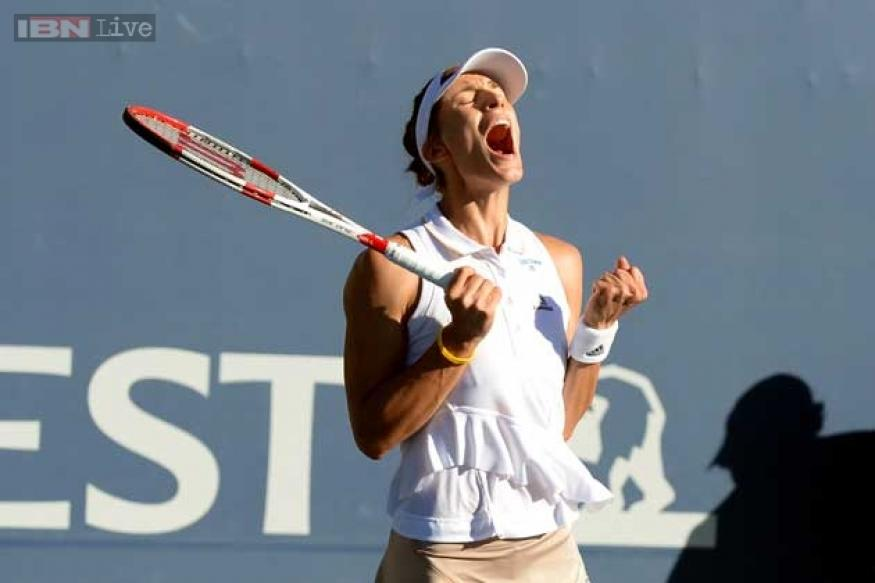 Andrea Petkovic beats Venus Williams at Stanford