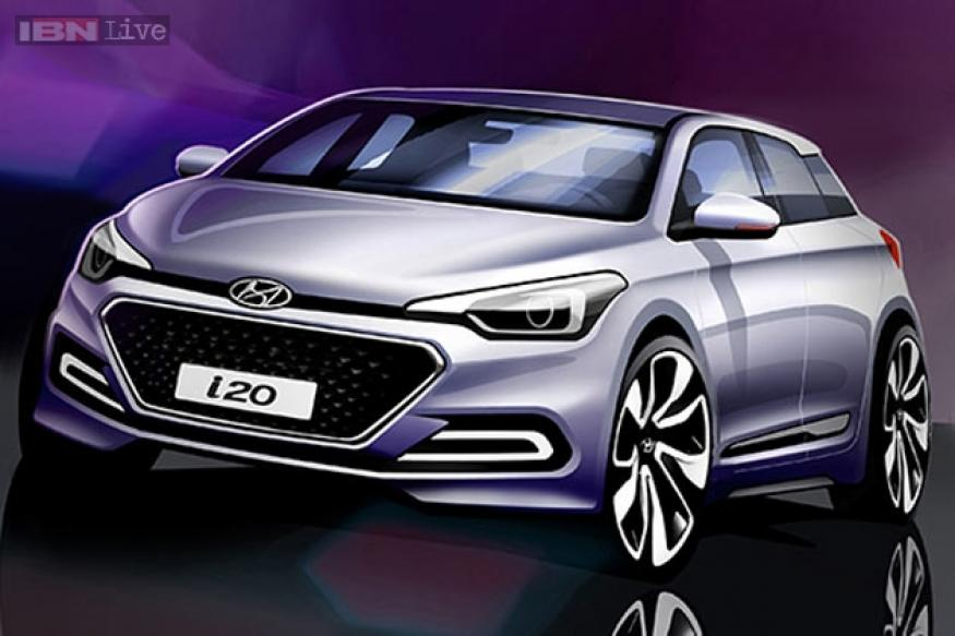Hyundai India releases sketches of the upcoming Elite i20