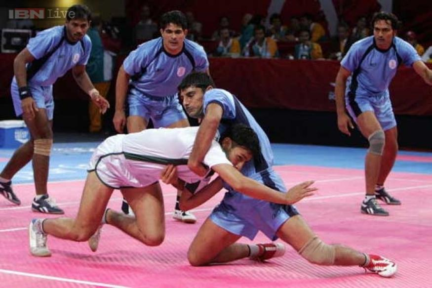 Indian men's kabaddi team grouped with Pakistan in Asian Games