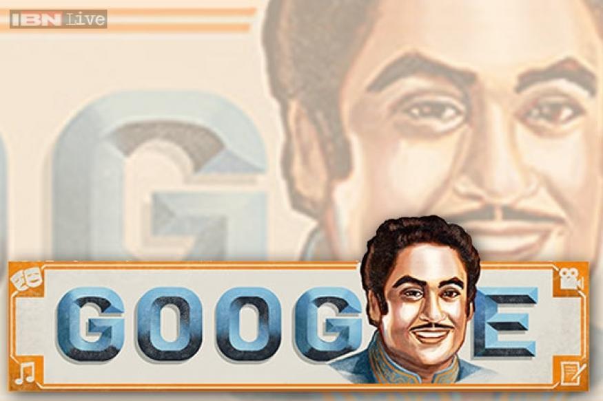 Google doodles Kishore Kumar's versatility