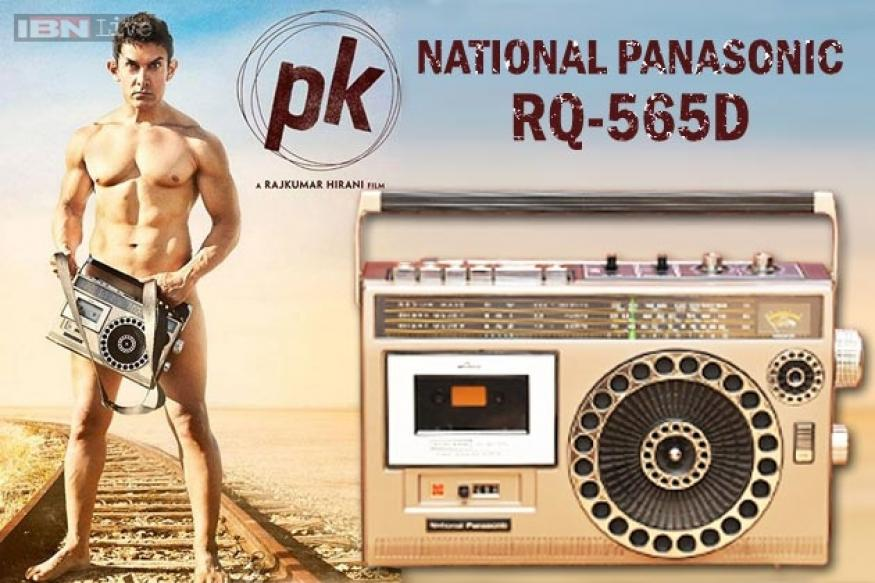 'PK' poster: All that you need to know about the National Panasonic two-in-one covering Aamir Khan's privates