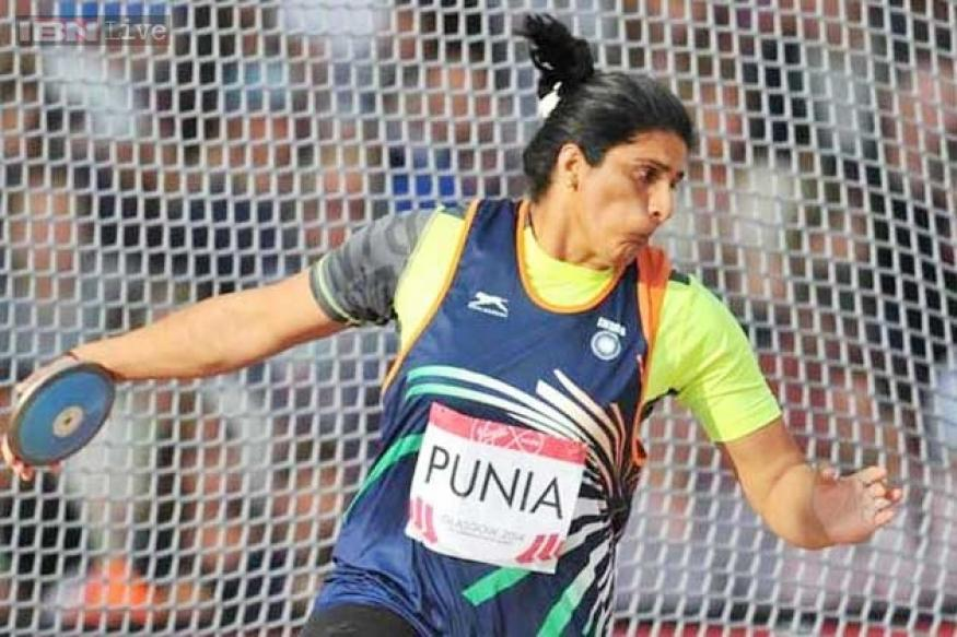 CWG 2014: Discus thrower Seema Punia wins silver