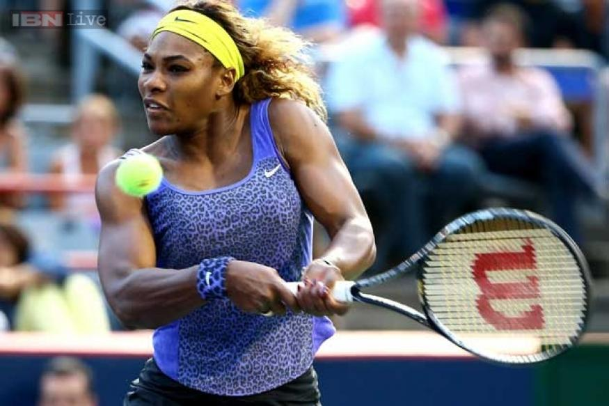Serena Williams battles on in Cincinnati, Kvitova falls