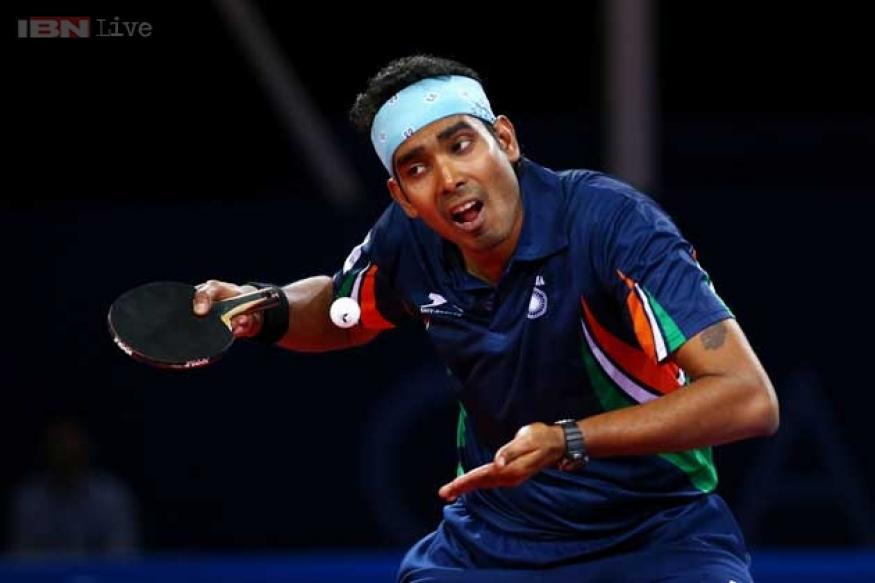 CWG 2014: Indian paddlers Sharath Kamal-Anthony Amalraj settle for silver
