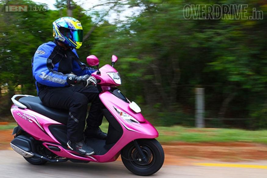 review of litrature on tvs scooty The tvs scooty zest 110 joins the zigwheels fleet we tell you more about it.