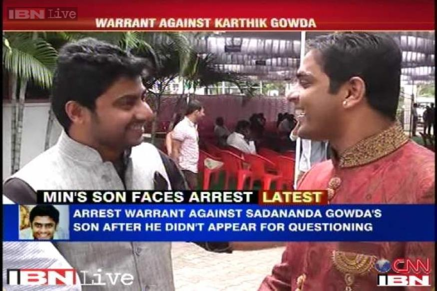 Sadananda Gowda's son faces arrest as court issues warrant against him on actress' complaint