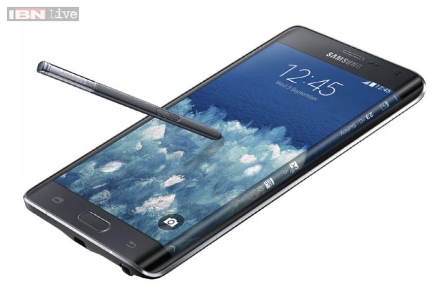 Samsung Galaxy Note Edge: Samsung's new smartphone's screen curves to the right for quick access to app shortcuts