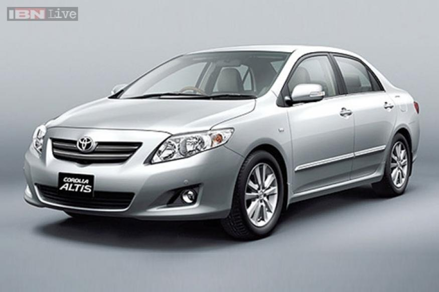 toyota recalls 5 834 corolla altis diesel models in india. Black Bedroom Furniture Sets. Home Design Ideas