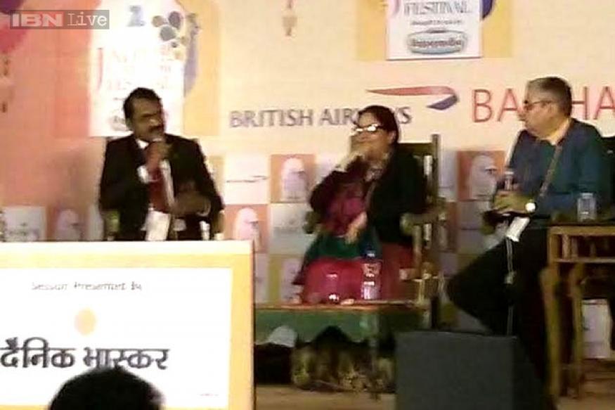 Jaipur Literature Festival 2015: ISRO programme director M Annadurai speaks about Mangalyaan; Indian human spaceflight programme