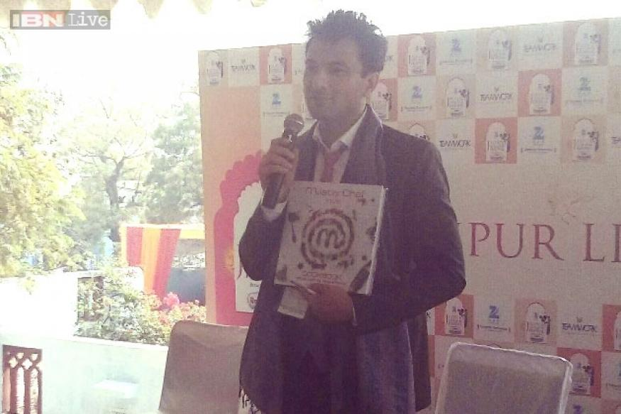 Jaipur Literature Festival 2015: Chef Vikas Khanna unveils new cookbook; wants to take Indian cuisine to the world