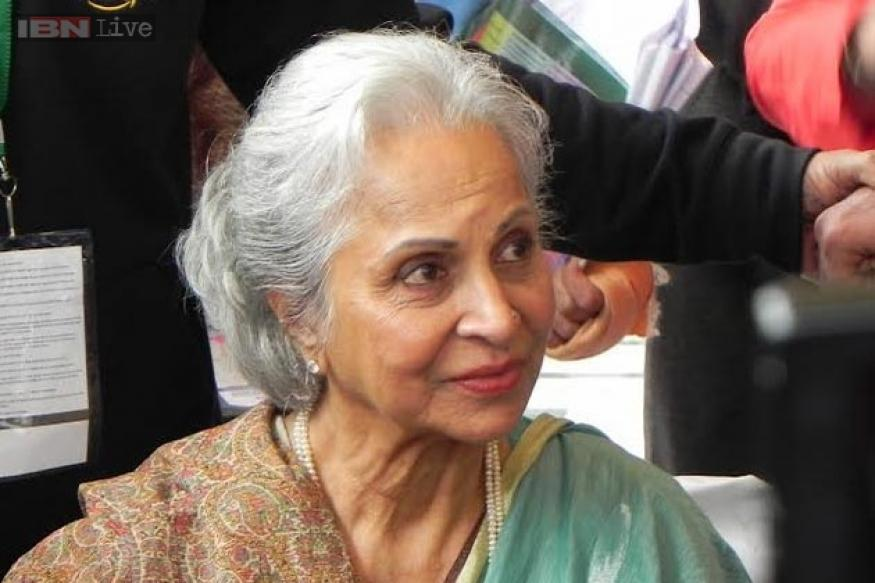 JLF 2015, Day 2, behind the scenes: Waheeda Rehman gets mobbed by the media; Suhel Seth calls Mamata Banerjee 'Lady Macbeth'