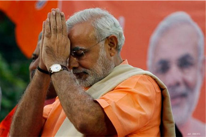 Narenda Modi saw no TV, took only calls after noon on Lok Sabha elections result day: Book