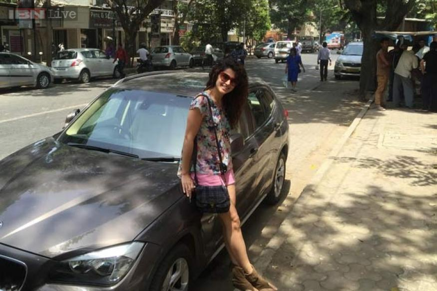Taapsee Pannu gifts herself a brand new car