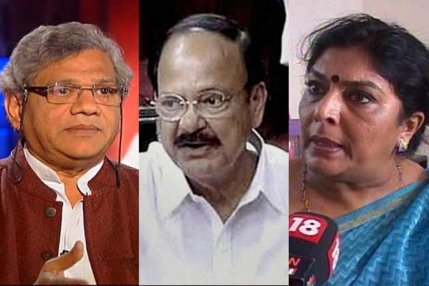 <b>Amma, Akka</b>, Anna bonhomie in Rajya Sabha - sitaram_vekaiah_renuka