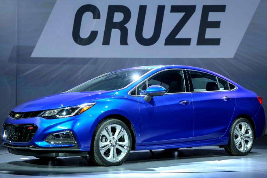Photos The All New Chevrolet Cruze Unveiled News18