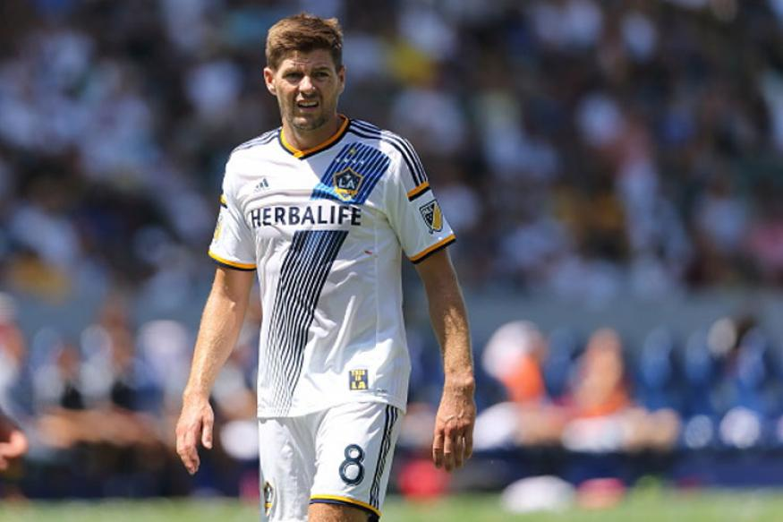 Liverpool Legend Steven Gerrard Hints at LA Galaxy Departure