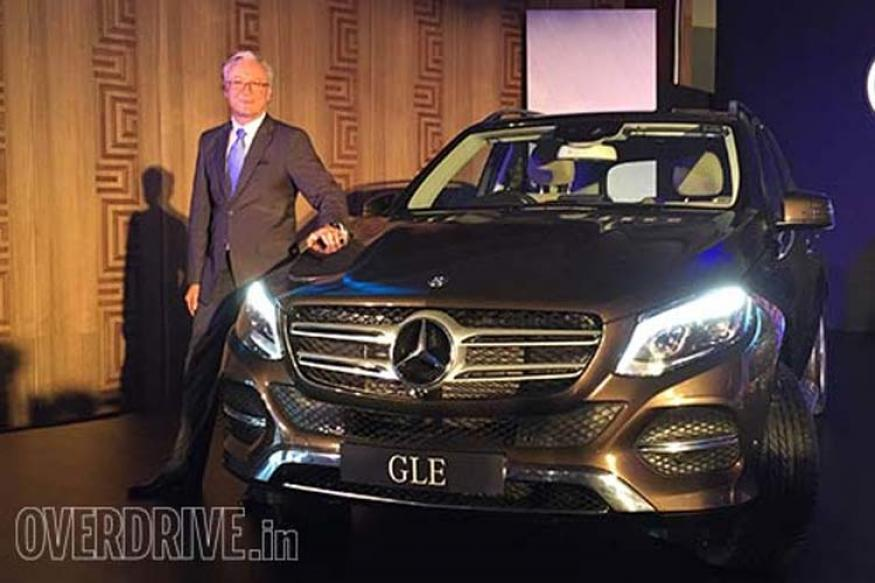 Mercedes benz launches its latest gle class suv at rs 58 9 for Mercedes benz suv india