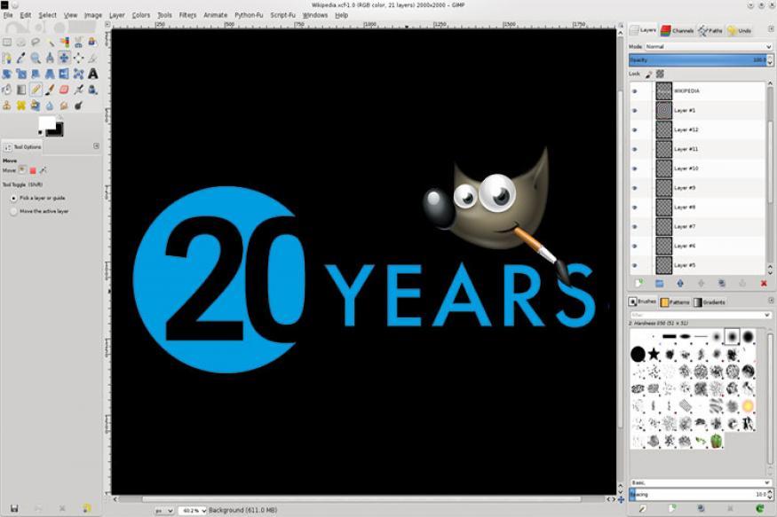 Gimp The Free Open Source Photoshop Alternative Turns 20