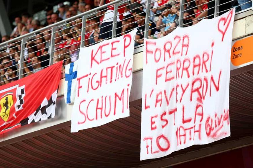 'Keep Fighting' is New Michael Schumacher Family Initiative