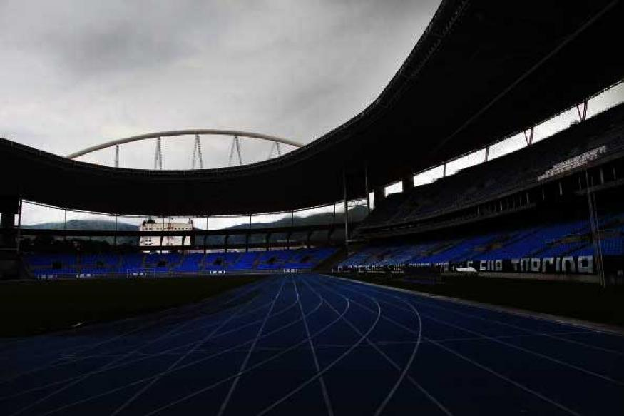 rio olympic track stadium goes dark due to unpaid bills news18. Black Bedroom Furniture Sets. Home Design Ideas
