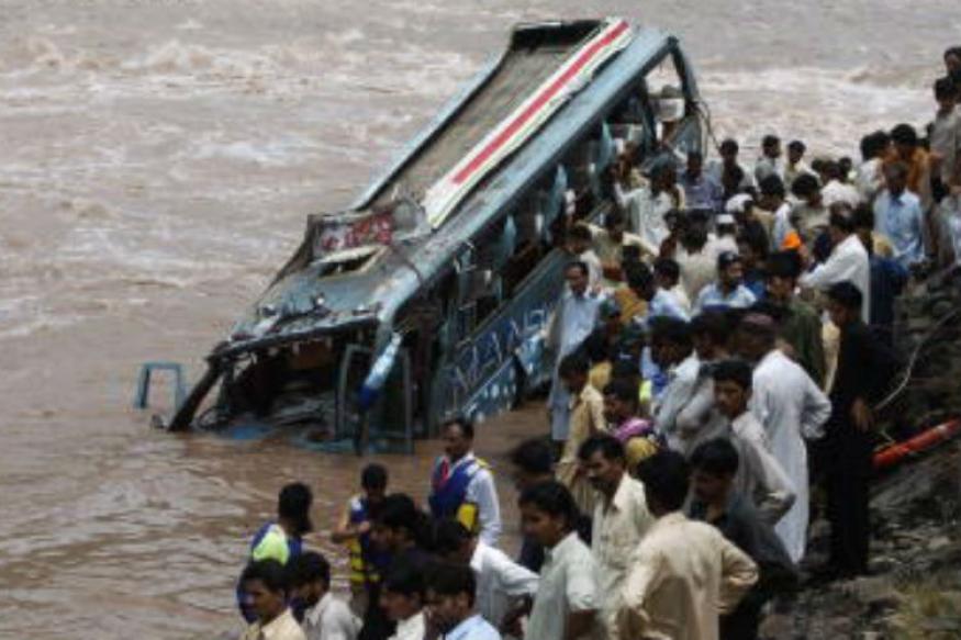 45 Killed as Bus Falls Into River in Shimla