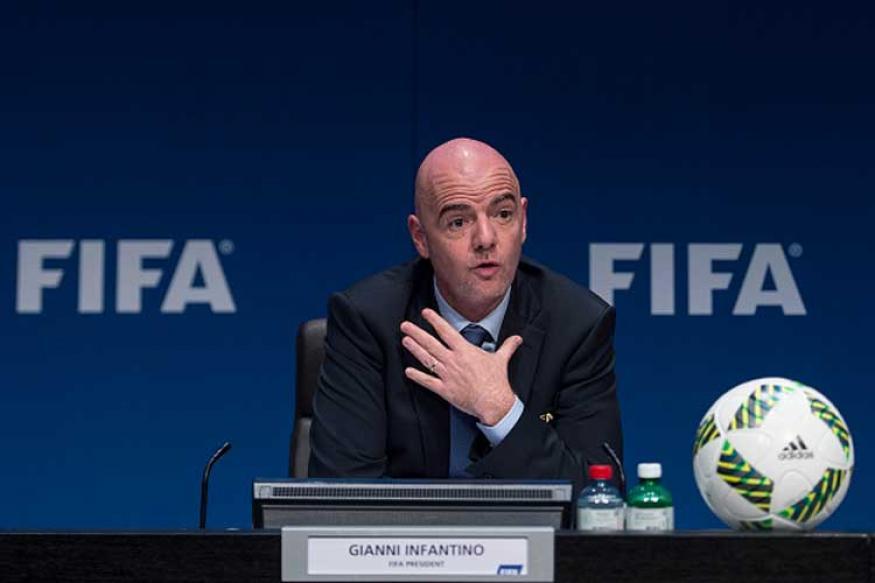 sport football international video referees technology world russia gianni infantino fifa