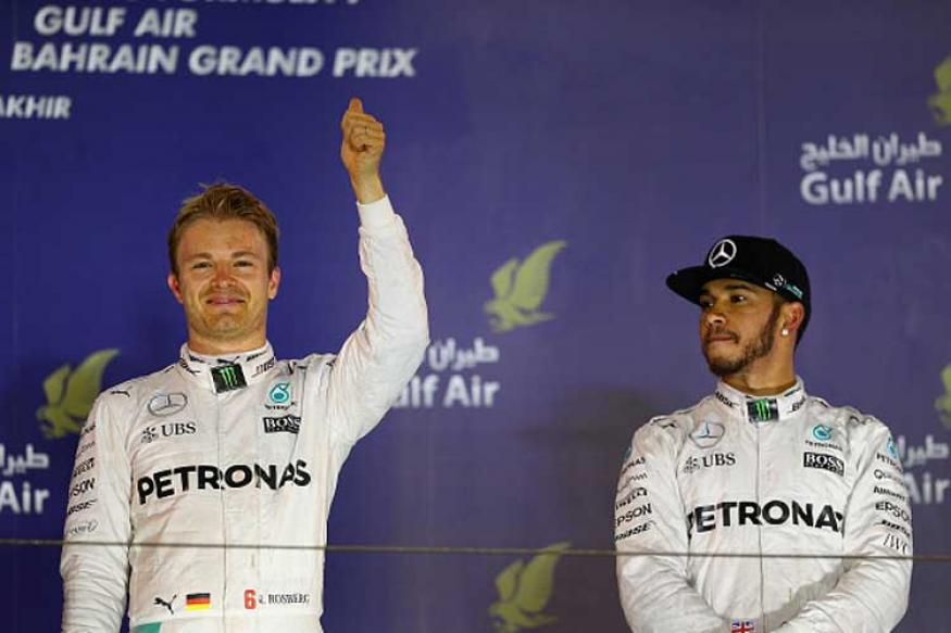 F1: Hamilton Faces Challenge of Stopping Rosberg's Winning Run at Chinese GP
