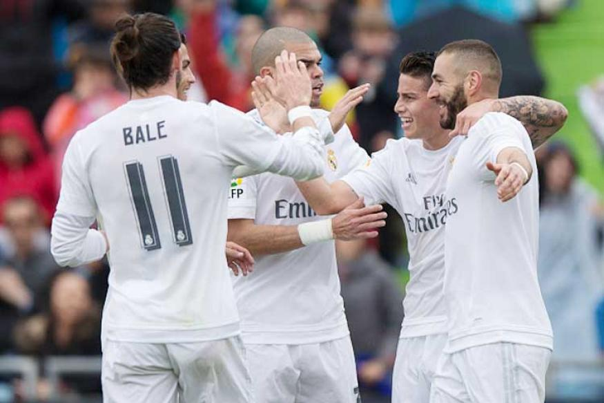 Résumé Vidéo Getafe Real Madrid 1 5 16 04 2016: Real Madrid Thrash Getafe 5-1 To Keep Pressure On