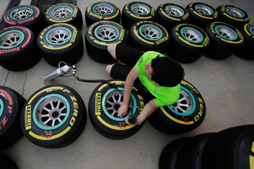 FIA Approves 25 Test Days for 2017 F1 Tyres