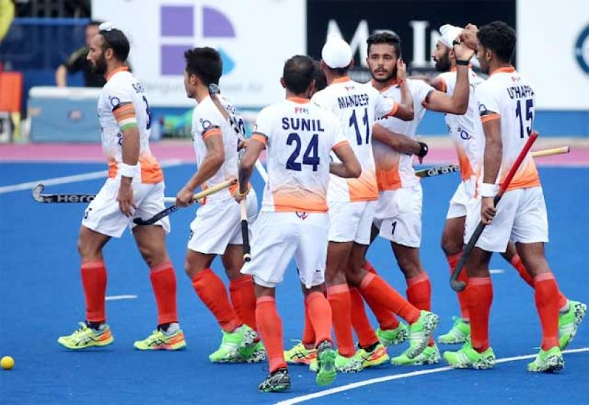 India Hammer Pakistan 5-1 in Azlan Shah to Climb to No. 2 on Leaderboard