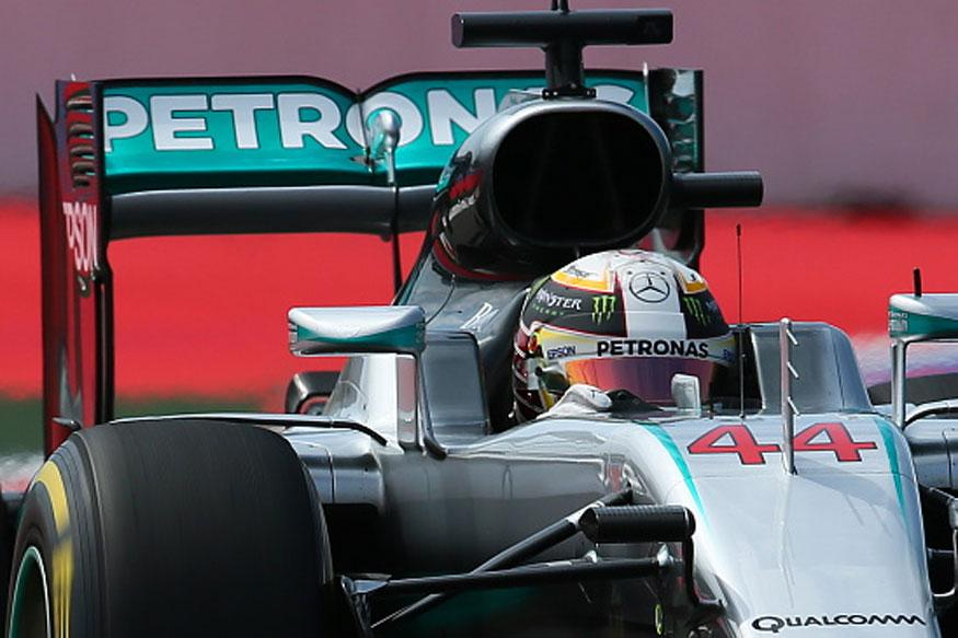 Lewis Hamilton Back on Top in Second Russian GP Practice
