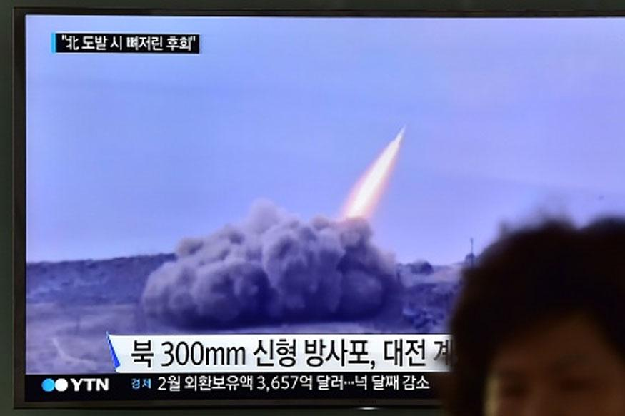 North Korean Mock-up Birthday Video Shows Missiles Blowing up US