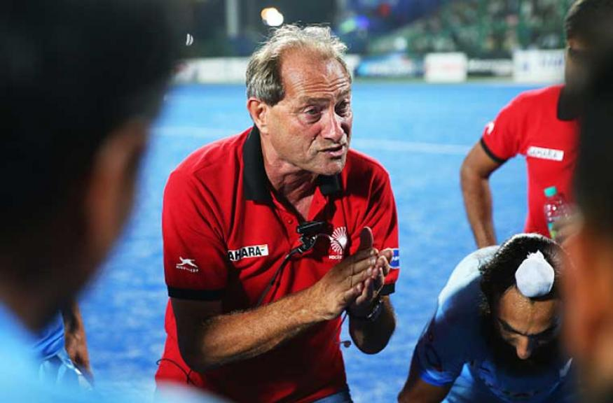 Roelant Oltmans seeks improved show from Indian hockey team