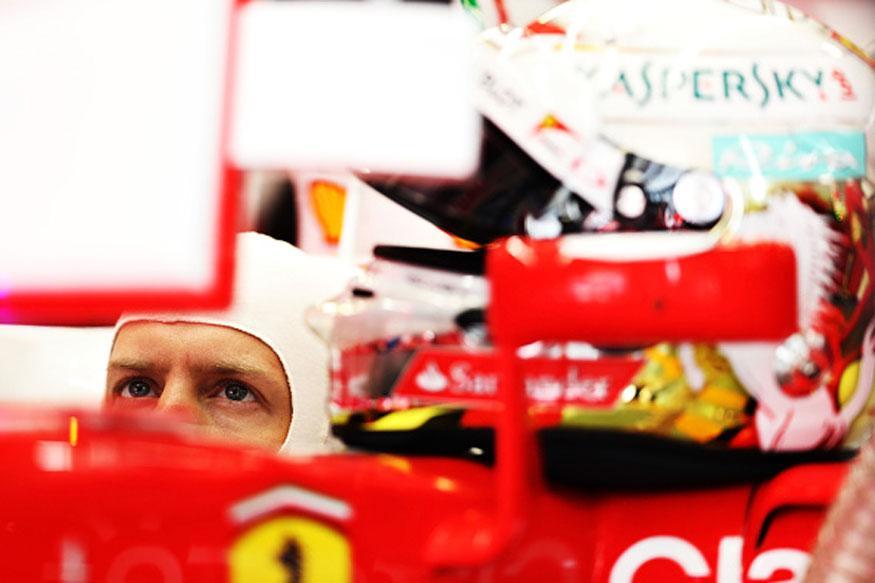 Sebastian Vettel Takes Five-place Grid Penalty in Russian GP