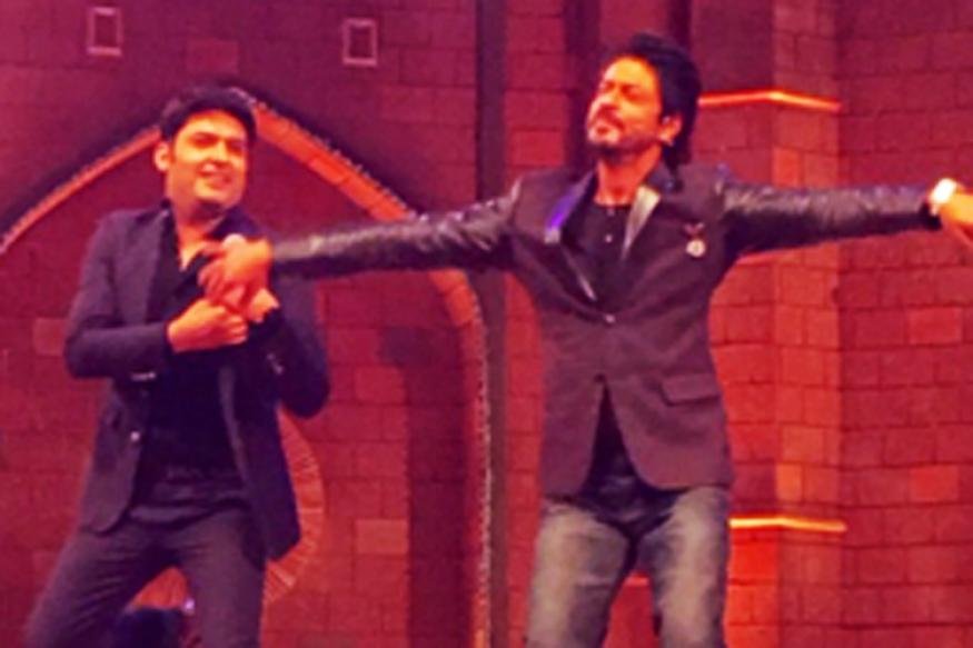 Photos: Kapil Sharma shoots his upcoming comedy show with Shah Rukh Khan in capital