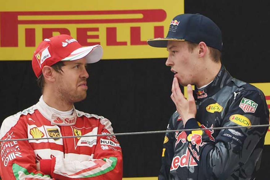 Sebastian Vettel Labels Daniil Kvyat a 'Mad Man' And 'Suicidal'