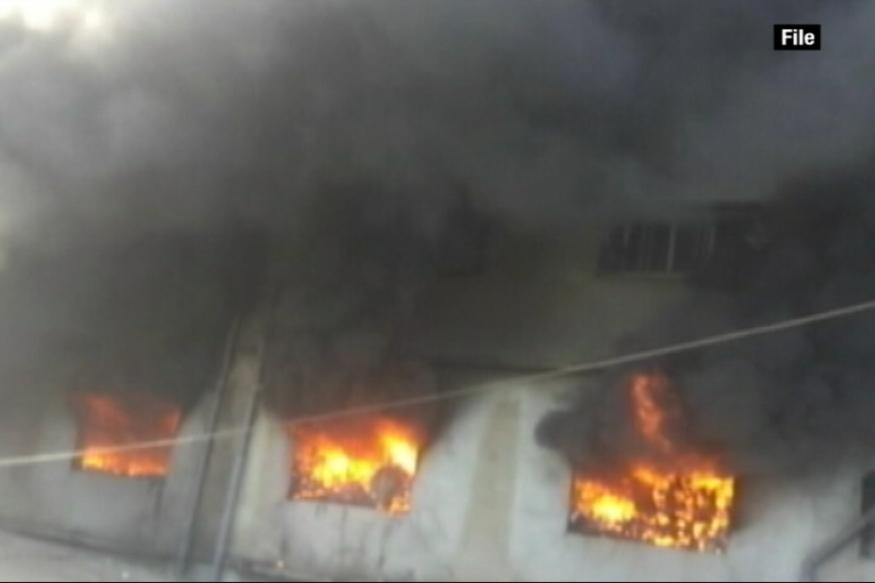 Major Fire in 5-storey Building in South Mumbai