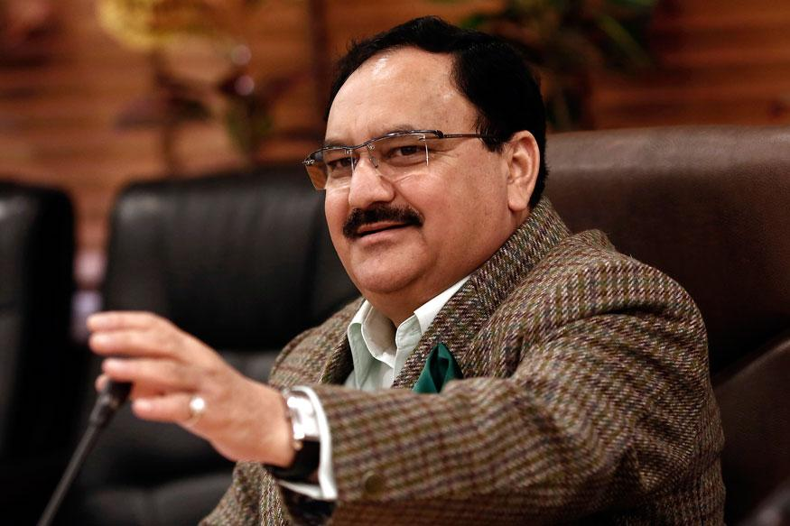 Bhubaneswar Fire: Union Health Minister Nadda At SUM Hospital Amid Protests