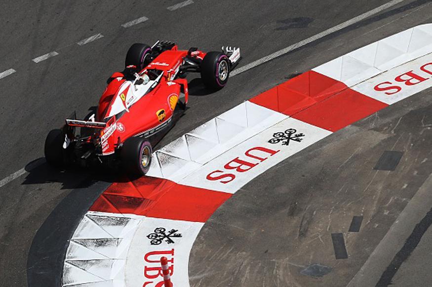Sebastian Vettel Fastest in third Practice of Monaco GP