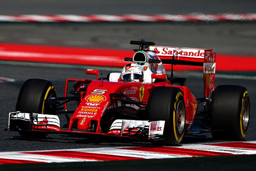 Vettel Leads the Way in 1st Practice Session at Spanish GP