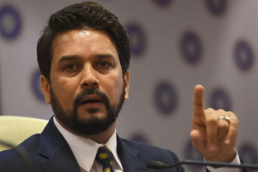 BJP MP Anurag Thakur Challenges Rahul to Debate On Demonestiation
