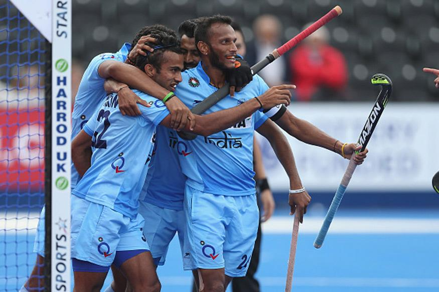 India Edge Past South Korea 2-1 in Hockey Champions Trophy