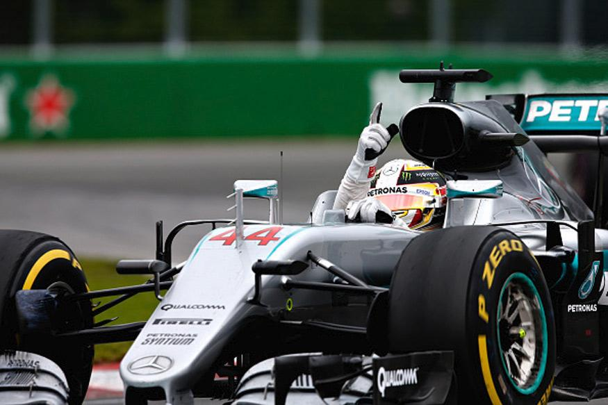 Hamilton Ahead of Rosberg in Baku As Rivals Struggle