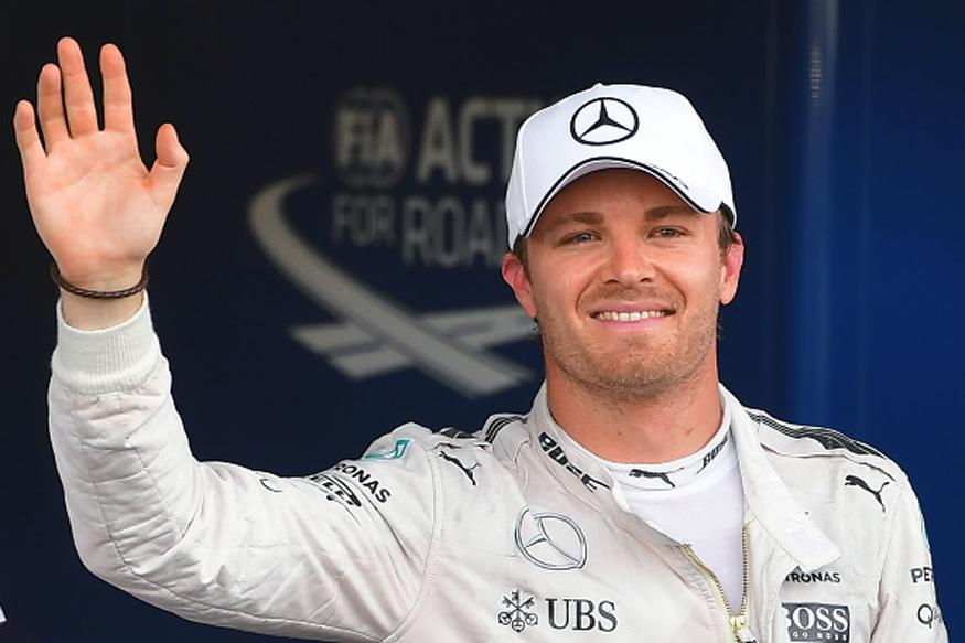 Nico Rosberg Takes Pole in Baku As Lewis Hamilton Crashes Out