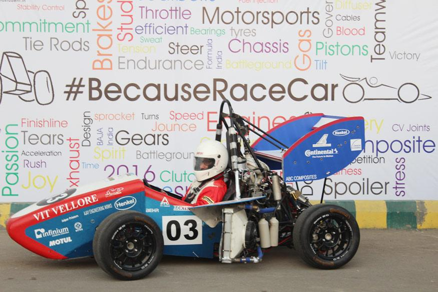 Vellore Engineering Students Ready to Test Their Formula Car in Germany