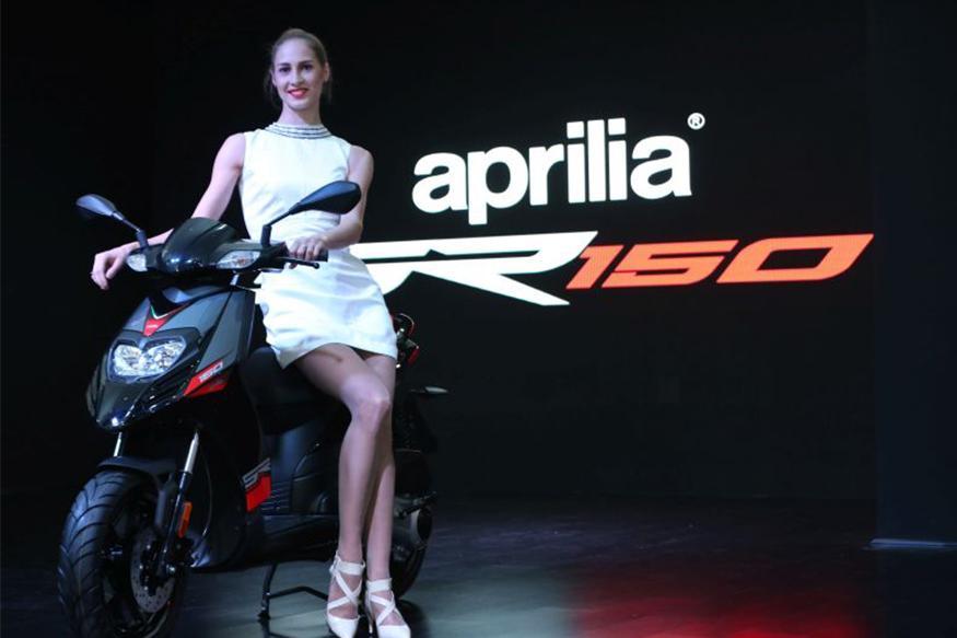 Aprilia SR 150 Deliveries Commenced by Piaggio India
