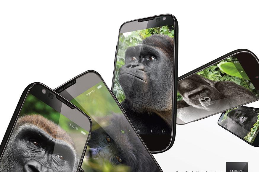 Corning's Gorilla Glass strengthens cellphone screens