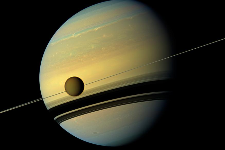 Life Might Exist on Saturn's Largest Moon 'Titan' - News18