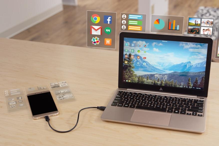 This 'Dumb Terminal' Turns Your Android Phone Into a Full-Fledged Laptop